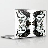 zayn malik Laptop & iPad Skins featuring Zayn Malik  by Clairenisbet