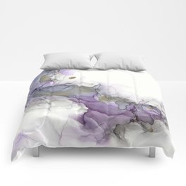 Study in Purple Comforters
