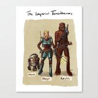 tenenbaums Canvas Prints featuring The Imperial Tenenbaums by carbonatedink