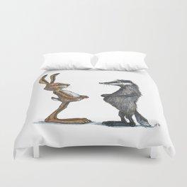 Hare & Badger Duvet Cover