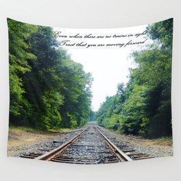 TRAIN Tracks Wall Tapestry