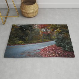 Maine Fall Foliage Rug