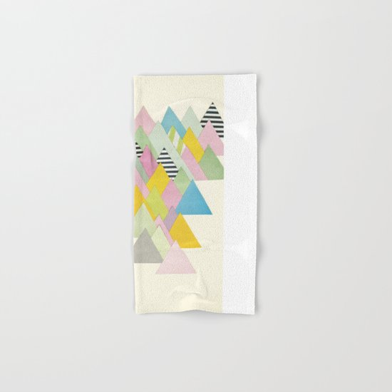 French Alps Hand & Bath Towel