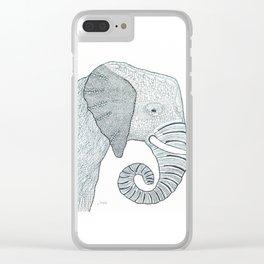 Mr Trunks Clear iPhone Case