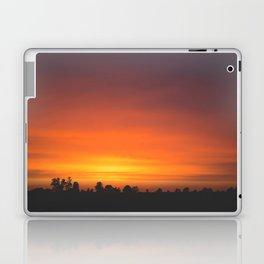 SUNRISE - SUNSET - ORANGE SKY - PHOTOGRAPHY Laptop & iPad Skin