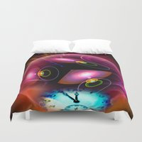 carpe diem Duvet Covers featuring Carpe Diem by Walter Zettl