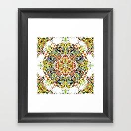 Colourful Node Of Termination Framed Art Print