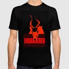 Endangered Addax Black MEDIUM Mens Fitted Tee