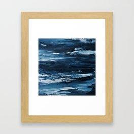 It Comes In Waves III Framed Art Print