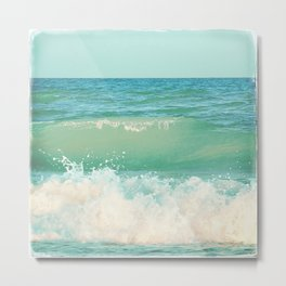 A Beautiful Spring Day at the Beach II Metal Print