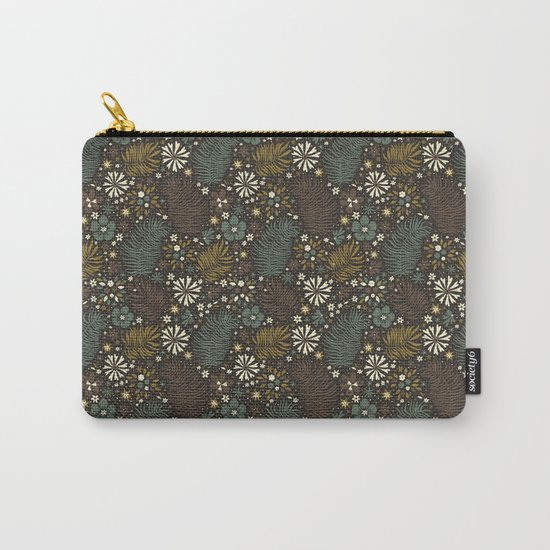 Mystical Forest (Greens) Carry-All Pouch
