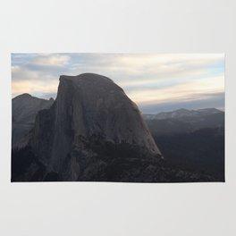 Sunrise at Half Dome Rug