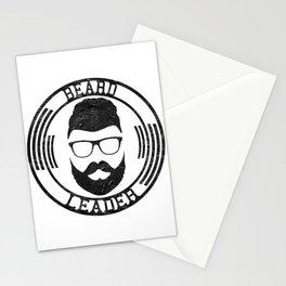 Beard leader Stationery Cards
