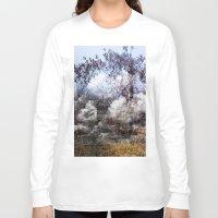 fog Long Sleeve T-shirts featuring Fog by Josipa Vurnek