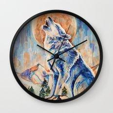 Wolf Lobo Wall Clock