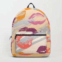 trendy Shimmering Sunset kisses Backpack