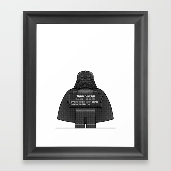 Jeff | You'll Need a Tray Framed Art Print