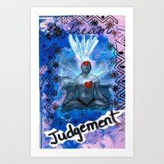 Judgement Day Art Print