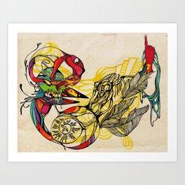 Cuervo Art Print