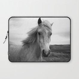 white horse Laptop Sleeve