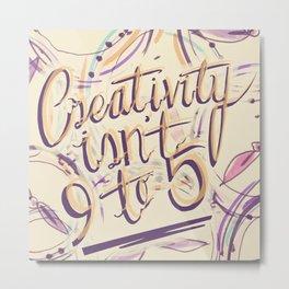 24 Hour Creative Metal Print
