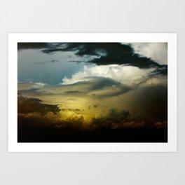 Gloomy Sky 0008 Art Print