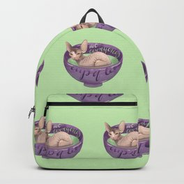 Not Everyone's Cup Of Tea - Sphynx Cat - Part 4 Backpack