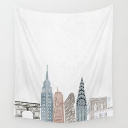 New York State of Mind Wall Tapestry