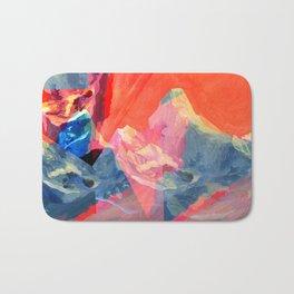 Abstract Mt. Everest Bath Mat