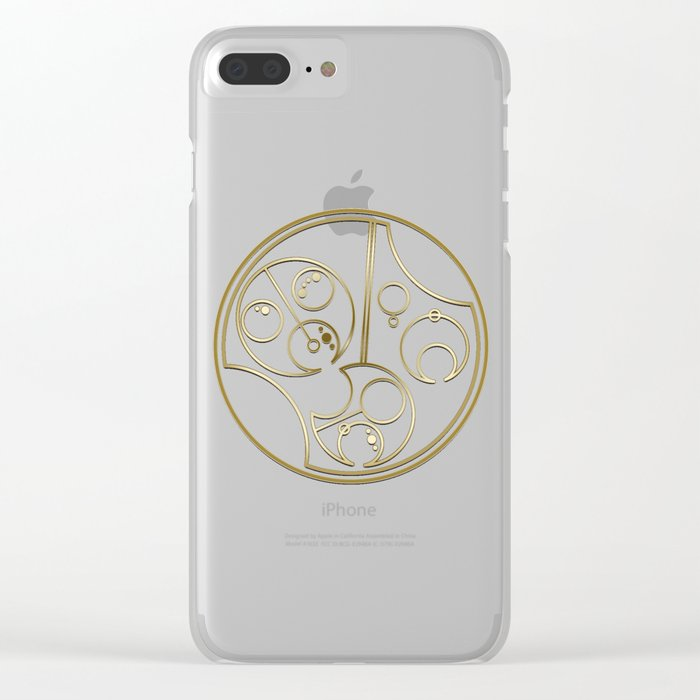 Don't Be A D!ck [dark] Clear iPhone Case