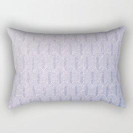 Art Deco, lavender,pattern,vintage,beautiful,chic,elegant,art nouveau, Belle Epoque,modern,trendy,for her,metallic Rectangular Pillow