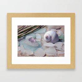 Amethyst Moon Framed Art Print