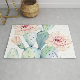 Prettiest Cactus Rose by Nature Magick Rug