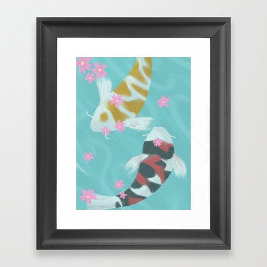 Ying/Yang Framed Art Print