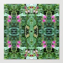Wild Flower Pattern Canvas Print