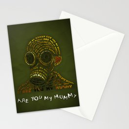 Are You My Mummy? Stationery Cards