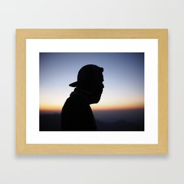 Men mystery Framed Art Print