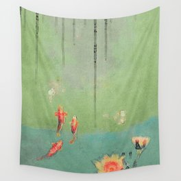 Koi Dreams Wall Tapestry