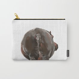 Hippo Butt Carry-All Pouch
