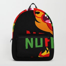No Heat No Eat Chili Spicy Backpack