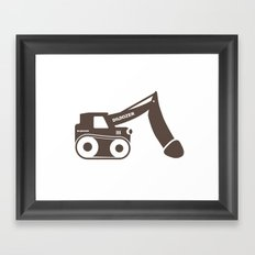 Dildozer Framed Art Print