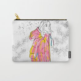 Girl in gorman Carry-All Pouch