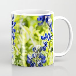 Texas Bluebonnet Up Close Coffee Mug