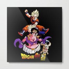 Goku and friends Metal Print