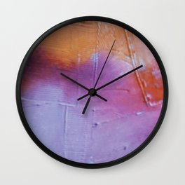 Snapshot Series #1: art through the lens of a disposable camera by Alyssa Hamilton Art Wall Clock
