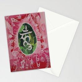 Om Meditation. Stationery Cards