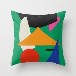 'Tropics vibe' Throw Pillow