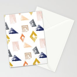 Modern Geometry Stationery Cards