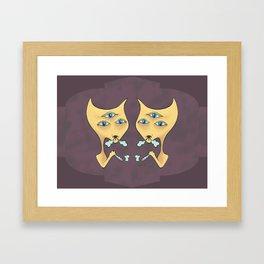 3rdHighCat Framed Art Print