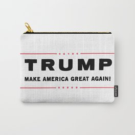 Donald TRUMP Make America Great Again Carry-All Pouch